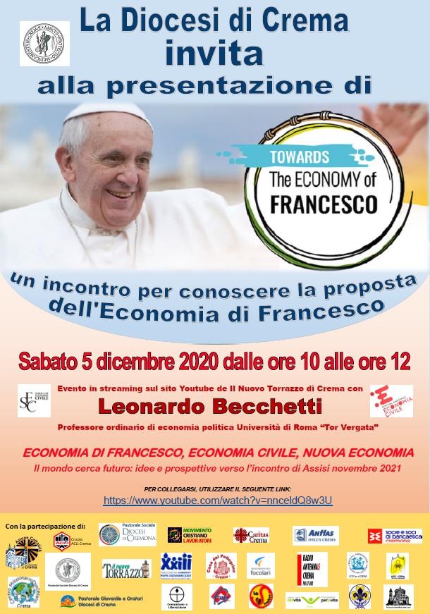 Economia di Francesco – Evento sab 5dicembre